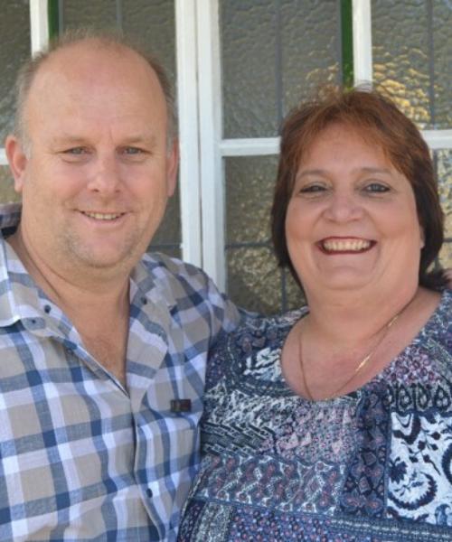 Kevin & Elize Burton
